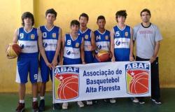 Nortão Cup, basquete de Alta Floresta perde na semi