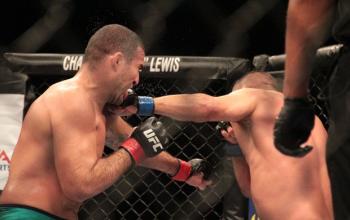 Em nova grande luta, Henderson fica em apuros, mas nocauteia Shogun