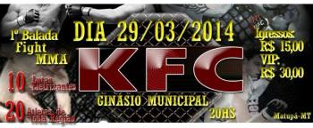 Lutadores de Alta Floresta participarão do KFC em Matupá
