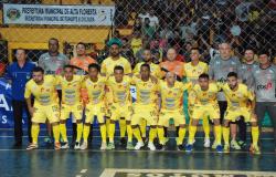 PFOS/FMLOeste já esta em Cuiabá para a final da Copa Centro América de Futsal