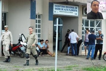 Segurança é encontrado morto no Escritório Regional de Saúde de Alta Floresta