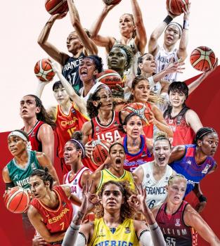 Confira a tabela do Pré-Olímpico feminino de basquete: são 10 vagas em disputa por 14 seleções