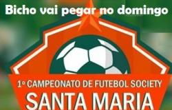 ULTIMAS VAGAS - Domingão de jogos decisivos no campo do Santa Maria
