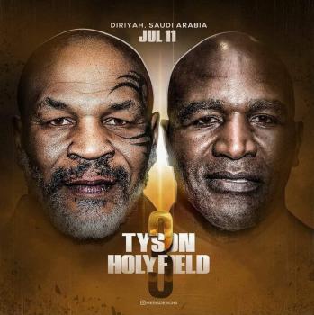 Tyson x Holyfield: negociação prevê terceira luta em novembro no Oriente Médio, diz jornal