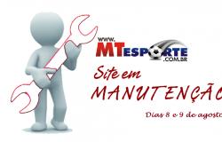 MTESPORTE INFORMA - PAUSA PARA MELHORIAS