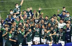Palmeiras vai receber R$ 9 milhões por título do Campeonato Paulista