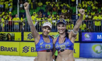 Vôlei de Praia: brasileiras voltam a competir após início da pandemia