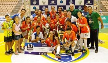 Uirapuru/Cáceres representa Mato Grosso no Campeonato Brasileiro de Futsal feminino