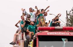 Provocação, meme e desfile pela cidade: a festa da Chapecoense pelo sétimo título do Catarinense