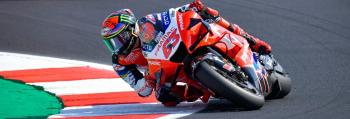 """Bagnaia lamenta queda """"estranha"""" que lhe custou primeira vitória na MotoGP"""