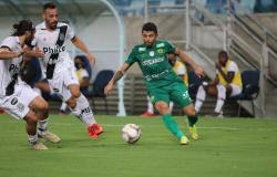 Com média de um gol nos últimos três jogos, Felipe Marques retoma bom futebol no Cuiabá