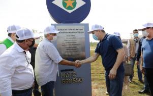 RESTAURAÇÃO DE RODOVIA - Governador afirma que concessão vai mudar história da Região Norte de MT