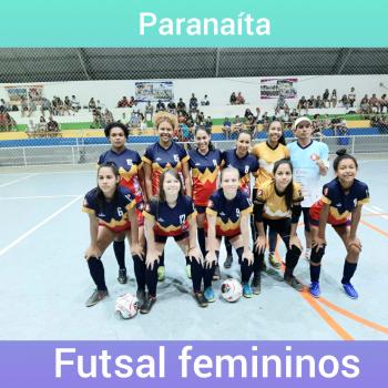 Futsal Feminino de Paranaita confirma participação na Copa Centro América
