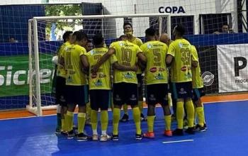 Sorriso perde em casa e dá adeus a Copa do Brasil de Futsal
