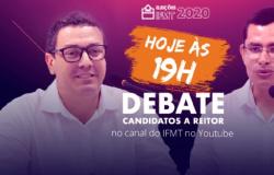 Debate entre candidatos a reitor do IFMT será realizada nesta segunda-feira no YouTube