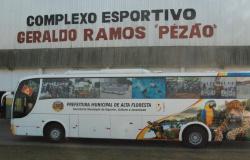 Equipes e atletas altaflorestenses aguardam ansiosos reparos no ônibus do esporte