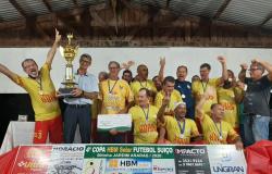Santa Maria/Ultrapopular conquista 4ª edição da Copa 50tinha Araras
