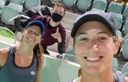 Tênis: Nas duplas, Luisa Stefani avança no WTA de Abu Dhabi