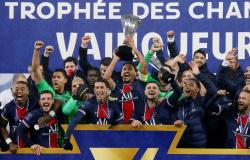 Neymar marca e PSG conquista Supercopa da França