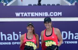 Stefani e Carter são vice-campeãs do WTA 500 de Abu Dhabi