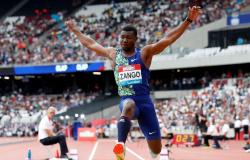 Atletismo: Hugues Fabrice Zango bate recorde mundial do salto triplo