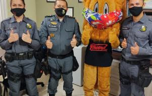 PROERD - Comando Regional faz lançamento da Operação Segurança Proativa nas Escolas