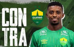 Cuiabá acerta a contratação do atacante Jonathan Cafú