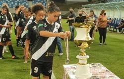 Meninas do Mixto conquistam título estadual goleando o Ação por 8 a 0