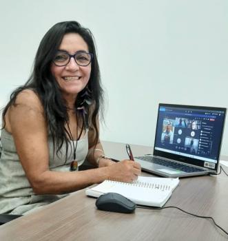 Vereadora Ilmarli realiza videoconferência com especialistas da Unemat sobre o aumento de casos e de óbitos pela Covid-19 em Alta Floresta