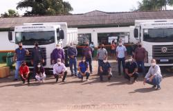 Secretaria de Infraestrutura recebe caminhões novos adquiridos com recursos da Câmara Municipal