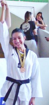 Mariana Braga Terceira colocada