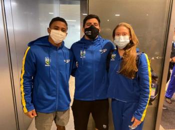 Luana Lira, Kawan Pereira e Isaac Souza garantem vagas para o Brasil nos Jogos Olímpicos