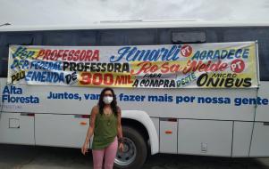 Alta Floresta adquiri micro-ônibus para saúde