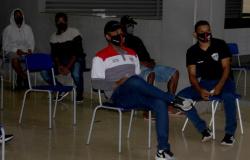 Elenco do Ação Santo Antonio faz teste do Covid-19 na Arena Pantanal