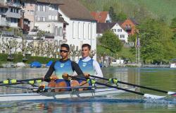 Atletas do remo estão na Suiça para última regata de qualificação para Tóquio