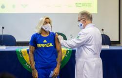 Começa a vacinação da delegação brasileira para os Jogos Olímpicos Tóquio 2020