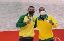 Isaquias Queiroz e Jacky Godmann levam o bronze no últmo dia do Mundial
