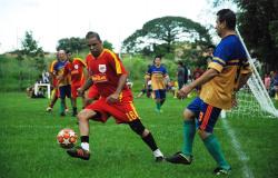 Bola rola pela Copa 50tinha do Araras em junho