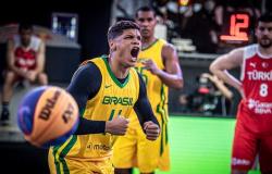 Basquete 3x3: Brasil fica perto das quartas de final do Pré-Olímpico