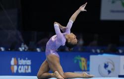 Rebeca Andrade conquista vaga em Tóquio no Pan da modalidade