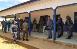 Comandante Regional da PM fala sobre buscas a assaltantes de banco de Nova Bandeirantes