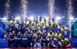 Vôlei masculino vence Polônia e é campeão da Liga das Nações