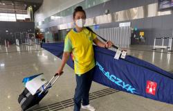 Ana Sátila é a primeira atleta do Time Brasil a embarcar para os Jogos Olímpicos de Tóquio
