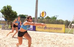 Mato Grosso define duplas para o Circuito Amazônia de Vôlei de Praia