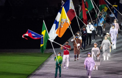 Com Rebeca Andrade de porta-bandeira, Brasil se despede de Tóquio 2020