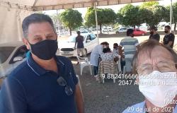 Vereador Pitoco destaca apoio da Secretaria de Esportes à campanha de vacinação contra a Covid-19