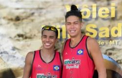 Peixotense Ariclenes e parceiro vencem 2ª Etapa Estadual Mato-grossense Vôlei de Praia Copa Amazônia