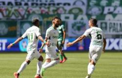 Cuiabá vence Palmeiras e sobre na classificação