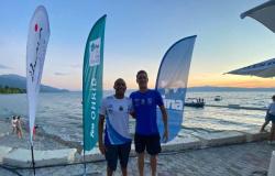 Brasileiros participam da etapa da Copa do Mundo de Maratona Aquática