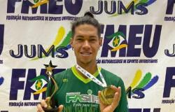 Peixotense Ariclenes conquista mais um titulo no voleibol pela Fasipe Cuiabá